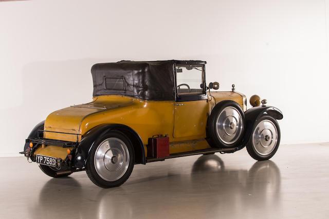 1926 Delage DI 14HP cabriolet