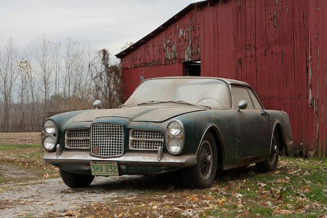 Sortie de grange d'un propriétaire privé depuis 40 ans,1962 Facel Vega Facel II coupé