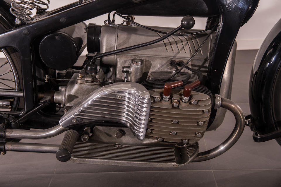 1938 Zündapp K800 Four Frame no. 141465 Engine no. 193968
