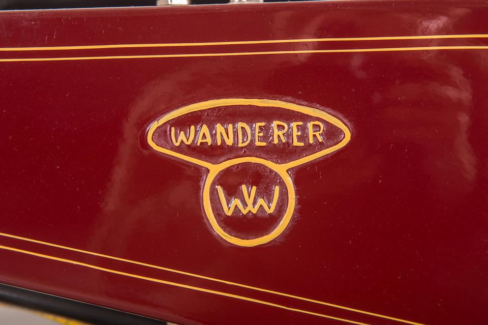 c.1920 Wanderer 616cc Twin Frame no. 34905 Engine no. 28009