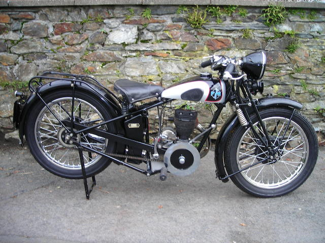 1930 FN 348cc M70 Frame no. 139070 Engine no. 3085