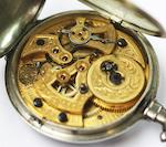 Bovet Fleurier: A 19th century open face pocket watch for the Chinese market
