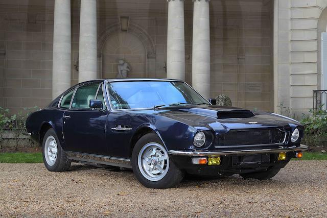 Livrée neuve à la princesse Ashraf Pahlavi d'Iran,1975 Aston Martin V8 coupé