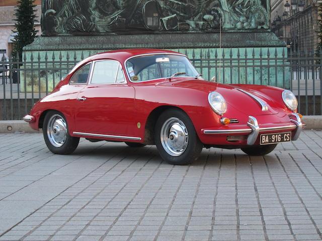 1962 Porsche 356B 1600S T6 coupé
