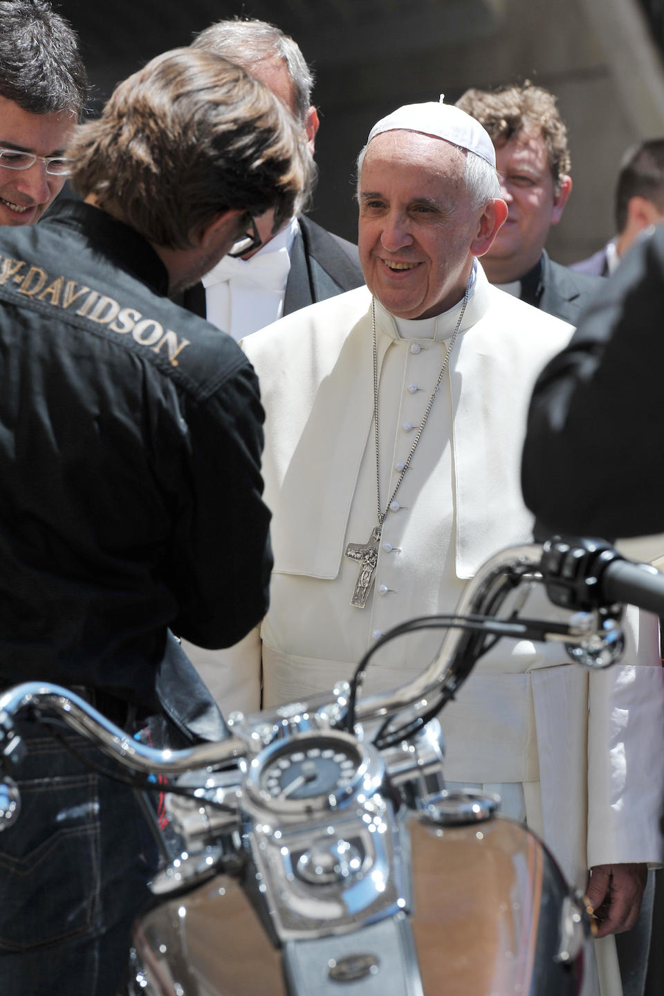 Sold for charity; formerly the property of His Holiness, Pope Francis,,2013 Harley-Davidson 1,585cc FXDC Dyna Super Glide Custom Frame no. 5HD1GV4D3DC306096 Engine no. GV4D306096