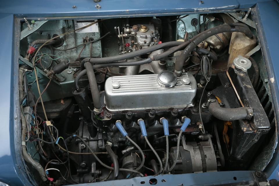 Réplique d'une voiture de rallye d'usine ,1966 Morris Mini Cooper S