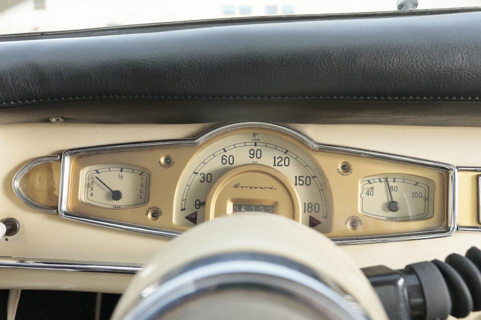1957 Borgward Isabella coupé