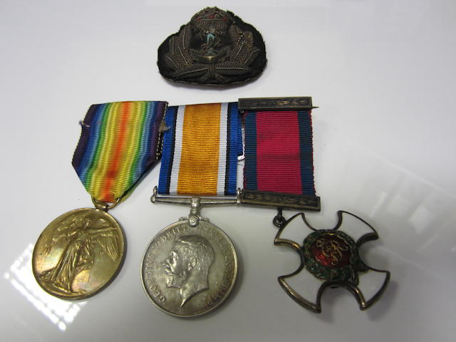 A Great War D.S.O. group of three to Lieutenant P.S.Peat, Royal Naval Reserve,