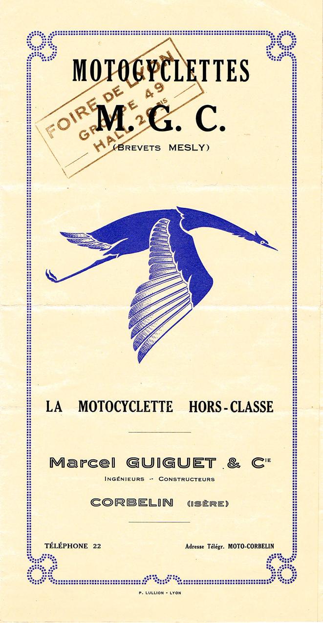1930 MGC 350cc Type N3 Frame no. 1027 Engine no. IOY/S 51263/JHE