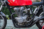 c.1969 Honda CB450 Racing Motorcycle Engine no. CB450K1E-4023542