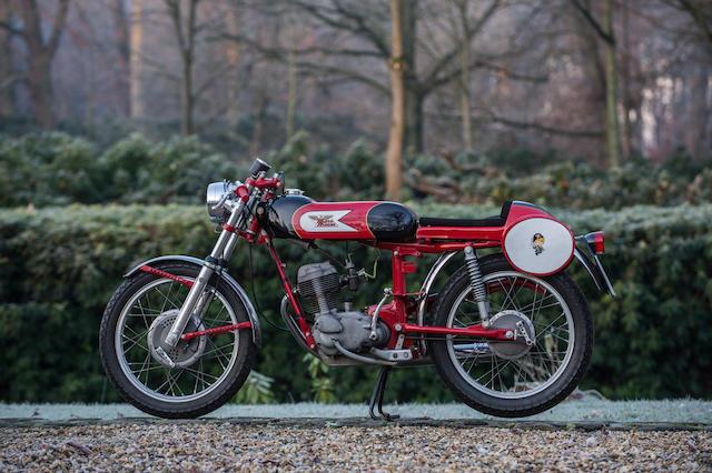 c.1964 Moto Morini 125cc Corsaro Veloce Frame no. E 38420