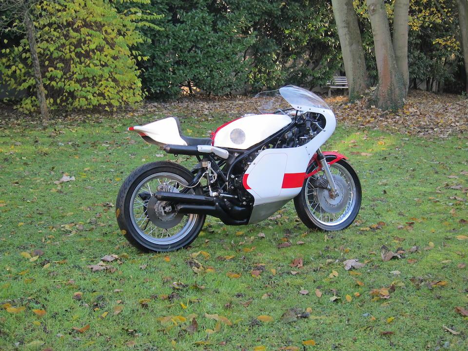 c.1978 Yamaha TZ750E Racing Motorcycle Frame no. 409-200135 Engine no. 409-100125