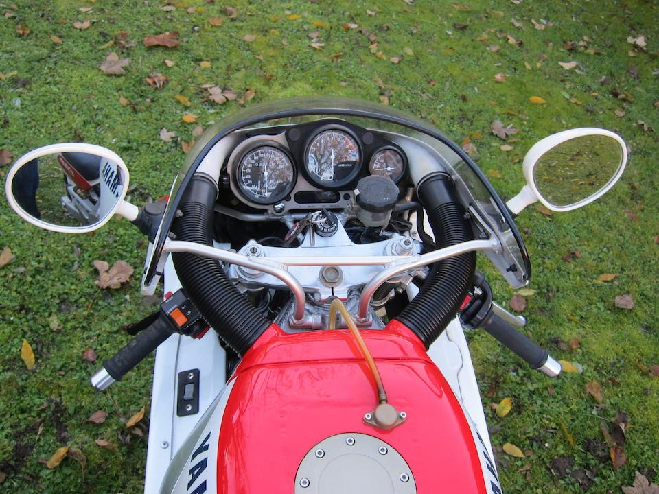 c.1990 Yamaha FZR750R OW01 Frame no. 3PG-000150 Engine no. 3PG-000150