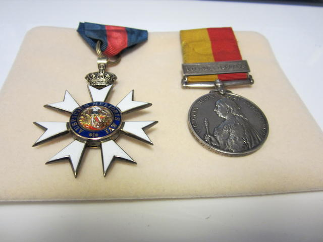 A C.M.G. pair to Mr.G.D.Smith, Uganda Protectorate,