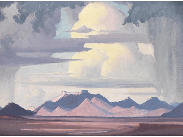 Jacob Hendrik Pierneef (South African, 1886-1957) Highveld Storm