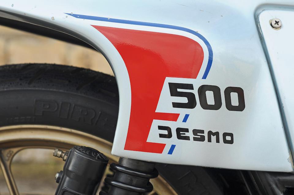1979 Ducati Pantah 500 SL Frame no. 660573 Engine no. DM500L-600562
