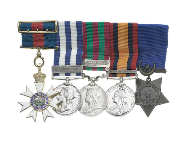 A Great War C.M.G. group of five to Lieutenant Colonel W.W.Pope, Royal Army Medical Corps,