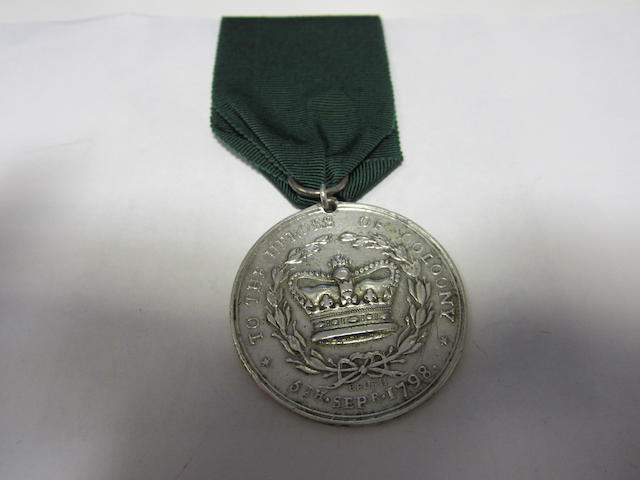 Limerick Militia Medal for Collooney 1798,