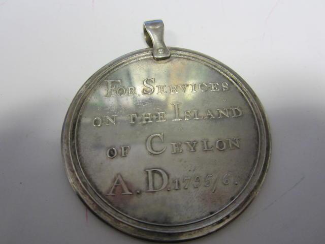 Capture of Ceylon 1796,