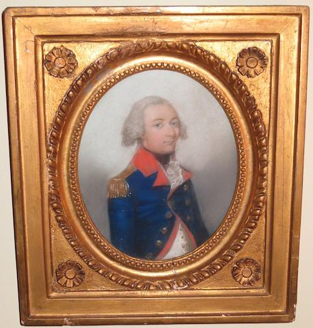 English School, 18th Century Portrait of Captain Fraser