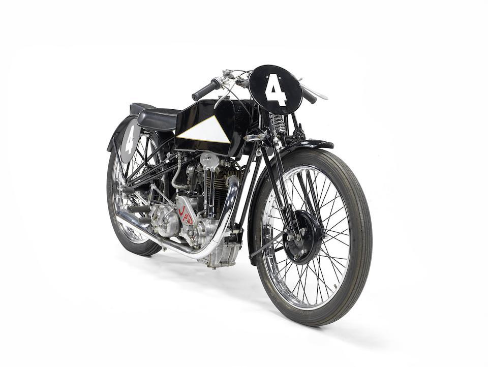 1935 Cotton-JAP 250cc Racing Motorcycle Engine no. BOR/R 39597