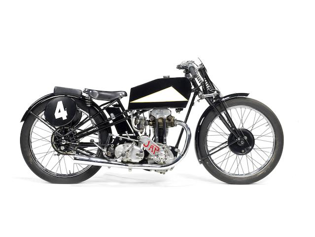 1935 Cotton-JAP 250cc Racing Motorcycle Engine no. BOR/R 39597