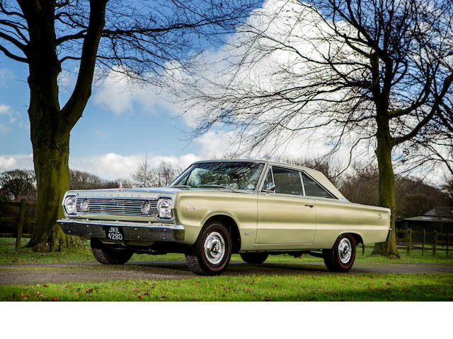 1966 Plymouth Satellite Hemi coupé
