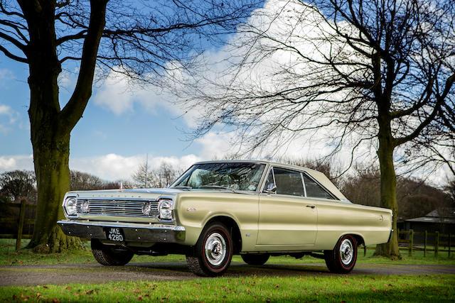 1966 Plymouth Satellite Hemi coupé