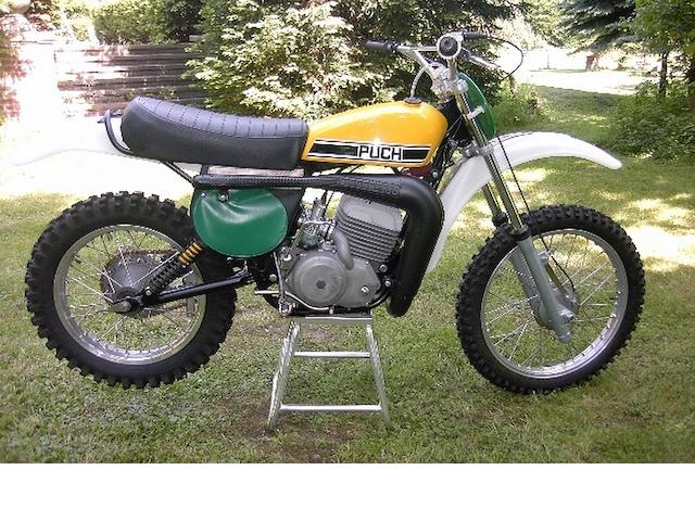 1974 Puch 250cc Moto-Crosser Engine no. 2402003