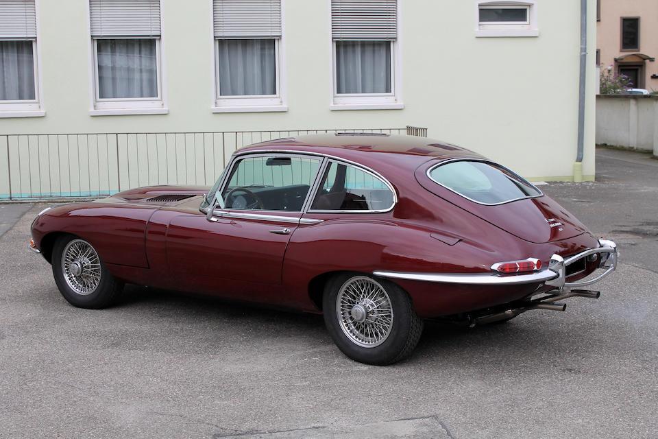 1968 Jaguar Type E 4.2-Litre série 1½ coupé 2+2