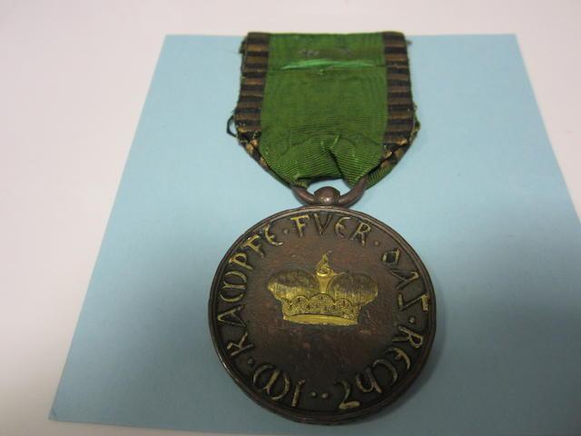 Saxe-Gotha-Altenburg Medal 1816,