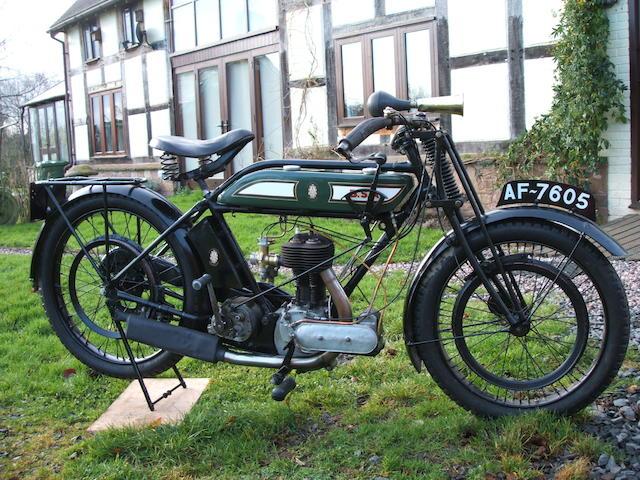 1923 BSA 499cc S23 Frame no. C 909 Engine no. 1053