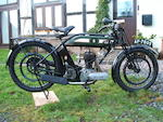 1923 BSA 499cc S23 Frame no. C 909 Engine no. 1053