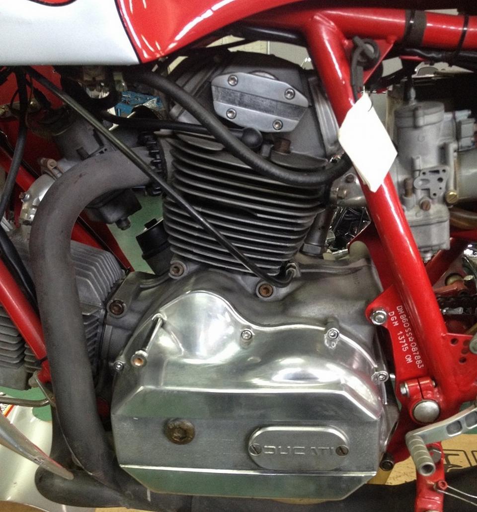 1978 Ducati 900SS 'NCR' Frame no. 87883 Engine no. DM860 086561