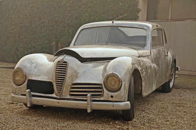1947 Alfa Romeo 6C 2500 Freccia d'Oro, en aluminium, berline à restaurer