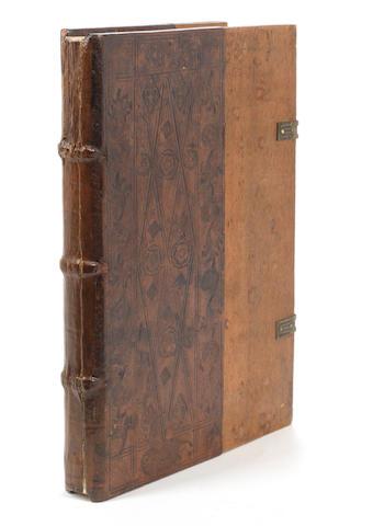 JODOCUS OF ERFURT, attributed. Vocabularius juris utriusque, [Venice, Bernardini Stagninus de Tridino, 1498]