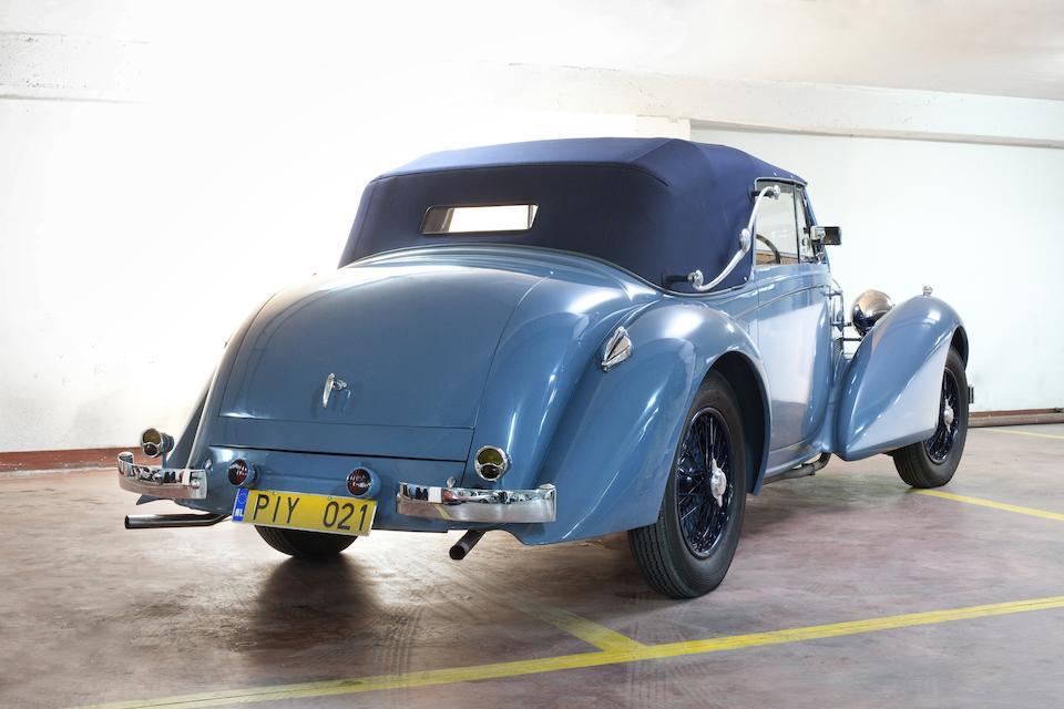 Vendue neuve à Briggs Cunningham,1939 Lagonda V12 Drophead Coupé