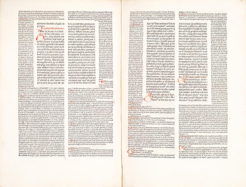 GREGORY IX, Pope Decretales, [Nuremberg, Anton Koberger, 14 July 1482]