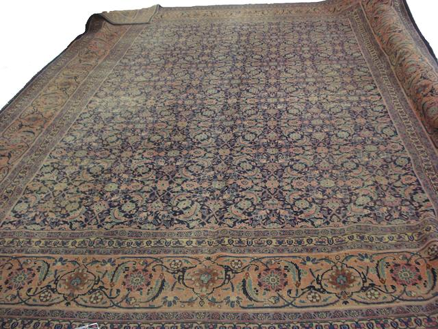 A Tabriz carpet, North West Persia, 460cm x 340cm