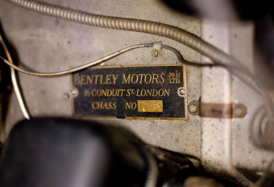1937 Bentley 4¼ Liter à portières 'parallèles', coupé-sedanca