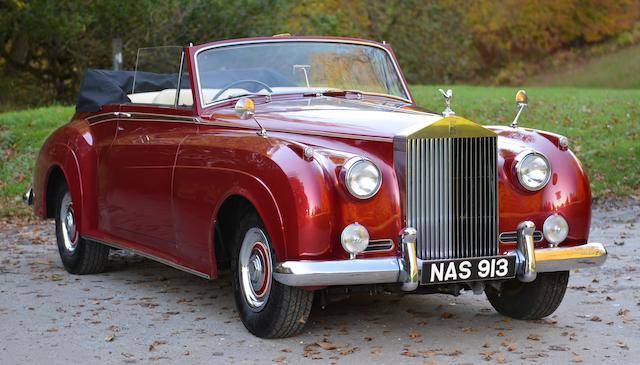 1959 Rolls-Royce Silver Cloud châssis long cabriolet
