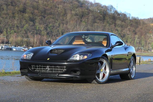 Boîte mécanique à 6 rapports,2004 Ferrari 575M Maranello coupé