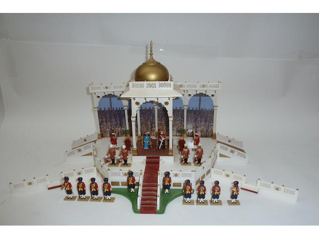 Britains Delhi Durbar with Amphitheatre Dais and Elephants 176