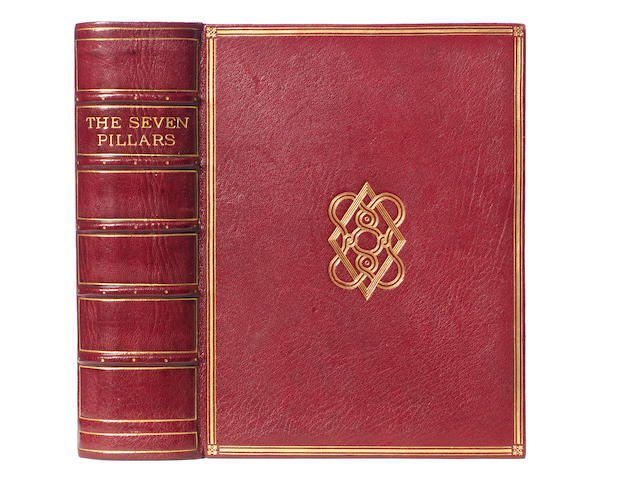 LAWRENCE (T.E.) Seven Pillars of Wisdom, a triumph, SUBSCRIBERS' EDITION, ONE OF 170 COMPLETE COPIES, S.F. NEWCOMBE'S COPY, [Privately Printed] for the Author by Manning Pike and H. J. Hodgson, 1926