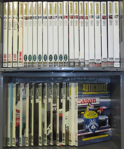 Autocourse Annuals; 1976/77 to 2009/10,