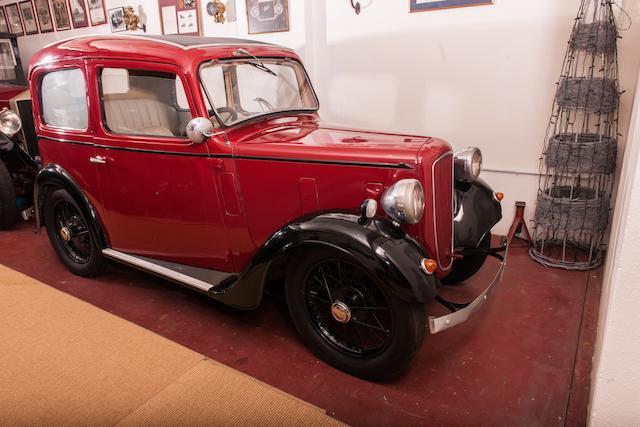 1938 Austin Seven Ruby Deluxe berline
