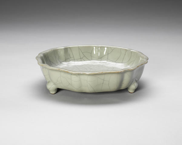 A Guan-type lobed washer 18th century