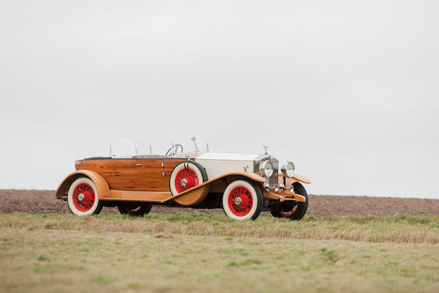 1932 Rolls-Royce 40/50 HP Phantom II tourer pointe bateau