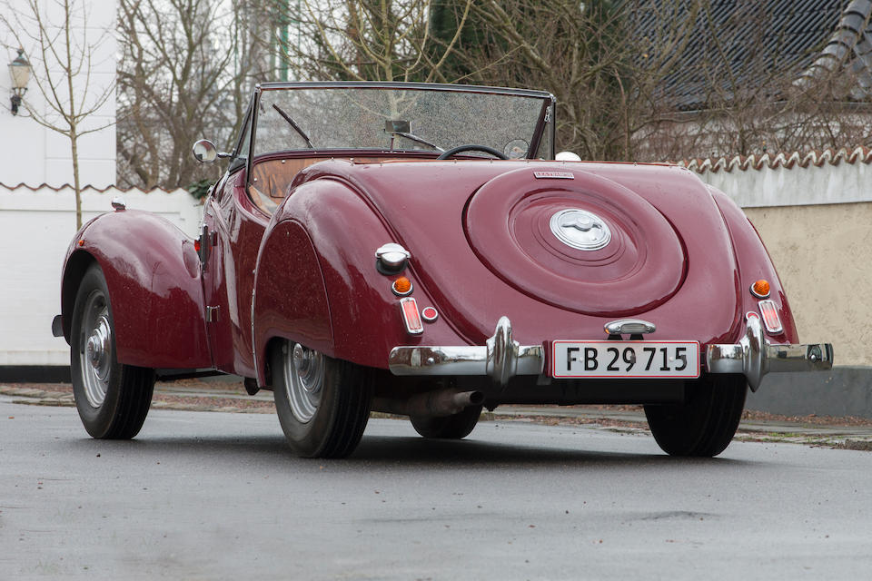 C. 1949 Lea-Francis 14 HP Sports roadster