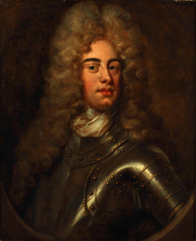 Follower of Sir Godfrey Kneller (Lübeck 1646-1723 London) Portrait of a gentleman, traditionally identified as John Churchill, 1st Duke of Malborough, bust-length, in armour